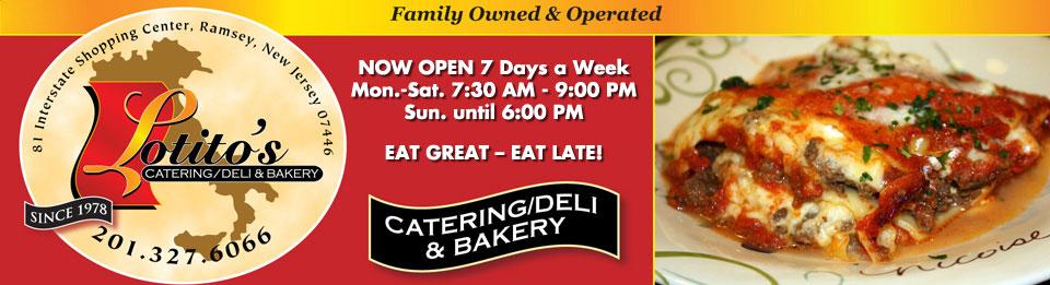 Lotitos Deli   Ramsey, NJ   Italian Specialty Food & Bakery